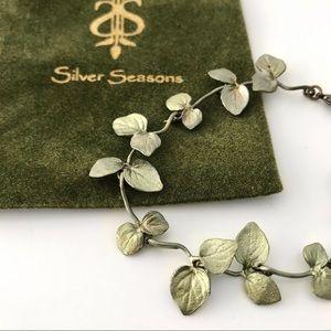 NEW Silver Seasons Peppermint Blossom Bracelet